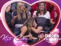 В объективы телекамер попала жадно поглощающая пиццу девушка на матче НБА