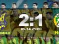 Украина – Нигер - 2:1 Видео голов товарищеского матча