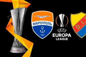 Мариуполь проведет свой первый матч Лиги Европы в Швеции