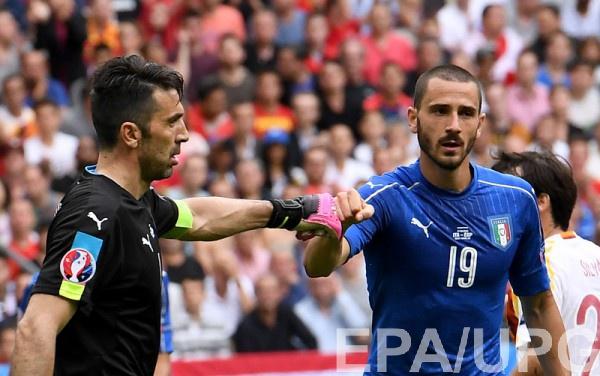 Бонуччи - игрок матча Италия - Испания