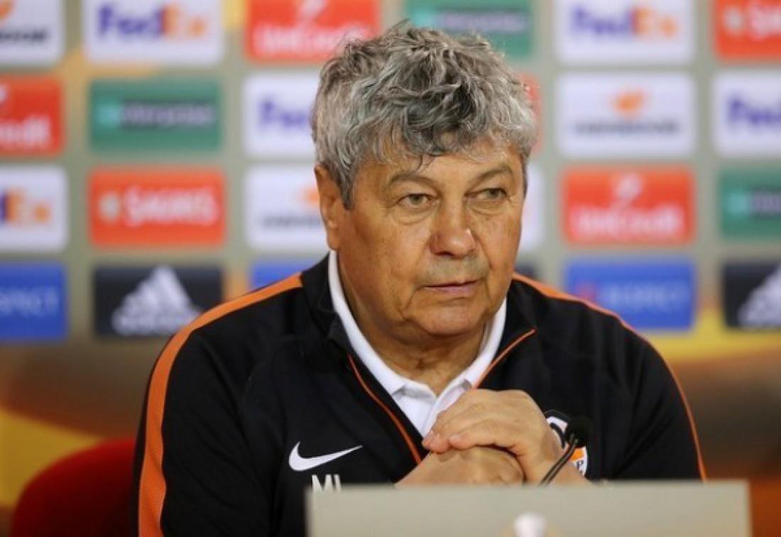 Главный тренер донецкого Шахтера Мирча Луческу