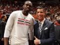 Криштиану Роналду посетил матч НБА