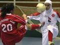 Иранским футболисткам запретили играть в хиджабах