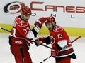 NHL: Шайба Бабчука не спасла Ураганы от поражения
