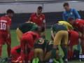 Украинский игрок потерял сознание, но его привели в чувство, чтобы он доиграл матч