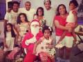Роналдиньо отметил Рождество в кругу большой семьи