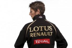 Ромэн Грожан стал боевым пилотом Lotus Renault
