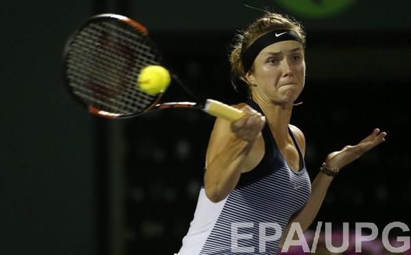 Элина Свитолина покидает турнир в Майами