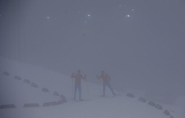 Туман на биатлонной трассе стал причиной переноса