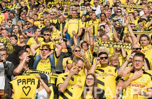 Болельщики дортмундской «Боруссии» бойкотируют матч против «РБЛейпциг»