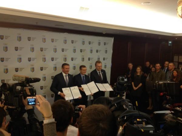 НОК официально выдвенул Львов на проведение Олимпиады-2022