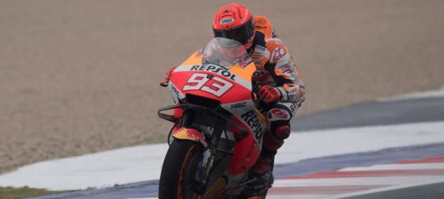 Маркес победил на MotoGP Эмилии-Романьи