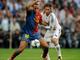 Серхио Рамос перенимает у Анри навыки контроля мяча