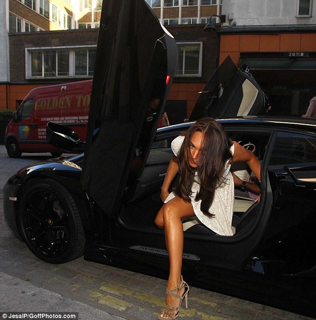 Красота в своем Lamborghini