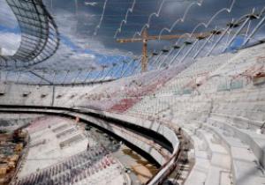 Польша выбилась из сроков строительства стадиона в Варшаве
