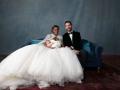 Пышная церемония и счатливые молодожены: фото со свадьбы Серены Уильямс