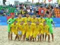 Сборная Украины по пляжному футболу разбила Молдову в контрольном матче