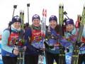 Биатлон: Две успешные гонки подняли женскую сборную Украины на две строчки в Кубке наций