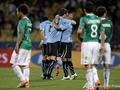 Праздник на двоих. Уругвай и Мексика выходят в 1/8 финала
