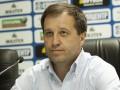 После ничьи с Динамо Вернидуба утвердили главным тренером Зари