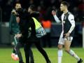 Роналду разгневался на фаната, который подбежал к нему сзади