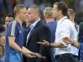 После матча Германия - Швеция произошла потасовка