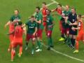 Российские футболисты подрались прямо на поле во время финального матча Кубка России