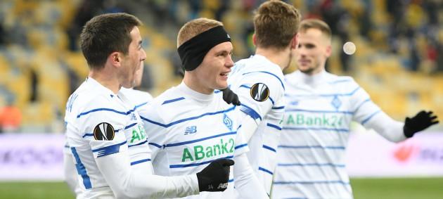 Динамо обыграло Брюгге и вышло в 1/8 финала Лиги Европы
