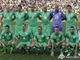 Сборная Алжира в фартовой зеленой форме, в которой была добыта историческая ничья с англичанами