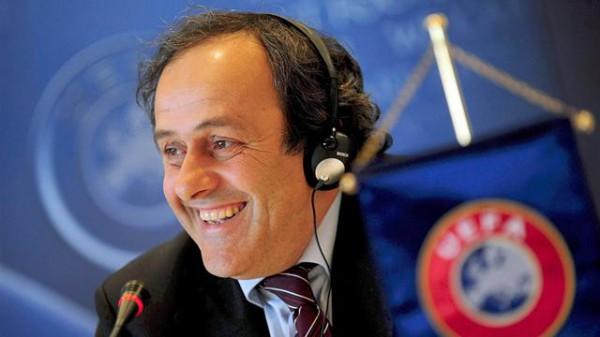 Президент UEFA Мишель Платини