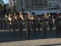 Военный оркестр развлекал болельщиков Динамо