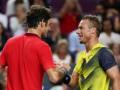 Федерер и Хьюитт устроили для болельщиков шоу во время выставочного матча