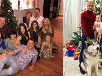 В кругу семьи и с собаками: как футболисты Новый год встречали