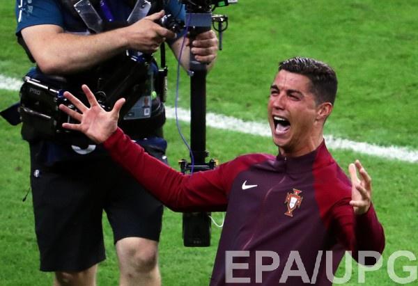 Роналду привел Португалию к победе на Евро-2016
