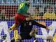 Самуэль Это'О забивает первый камерунский гол ЧМ-2010
