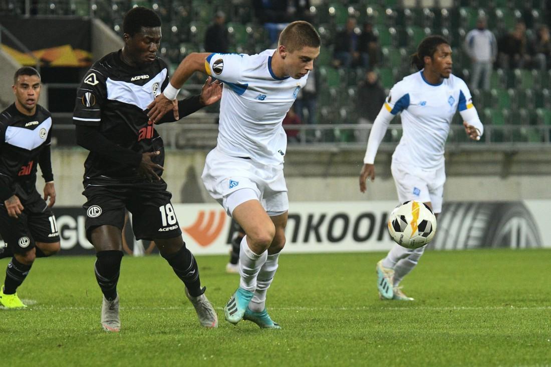 Лугано - Динамо: обзор матча