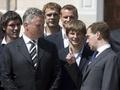 Медведев встретился со сборной России