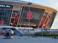 Донбасс Арена снова пострадала во время обстрела