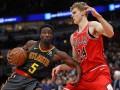 НБА: Атланта разгромила Чикаго, Нью-Йорк в упорной борьбе уступил Хьюстону