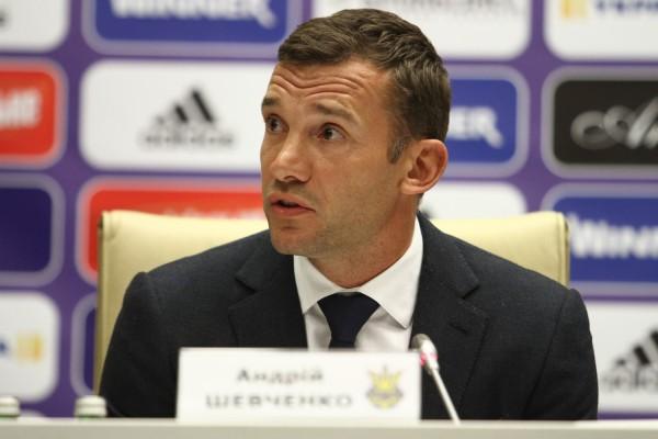 Шевченко прокомментировал свое назначение в сборной Украины