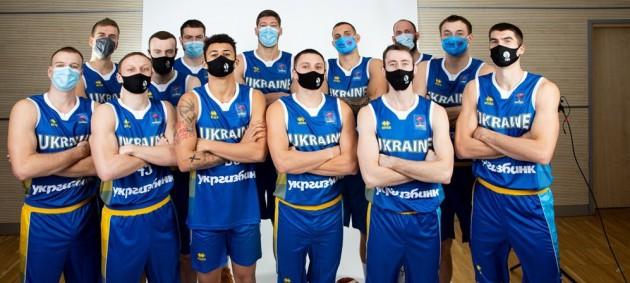 Состав сборной Украины на матч против Словении