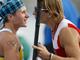 Финишные поздравления: Первой чемпионку поздравила россиянка Юлиана Салахова