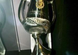 Разбитый Серхио Рамосом Кубок Испании стал музейным экспонатом