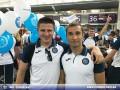 Олимпик красиво провели в Грецию на матч Лиги Европы