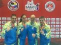 Украинские каратисты завоевали три медали на турнире в Стамбуле