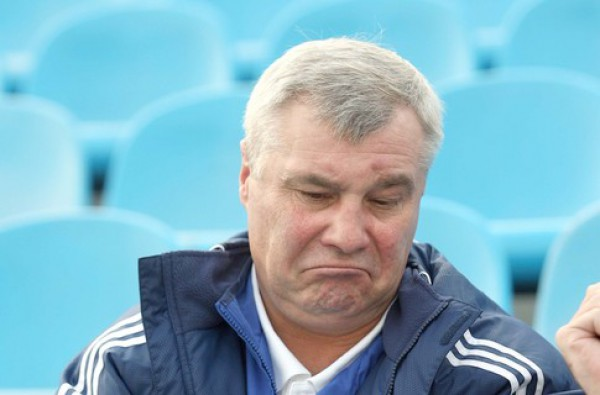 Анатолий Демьяненко снова недоволен арбитром