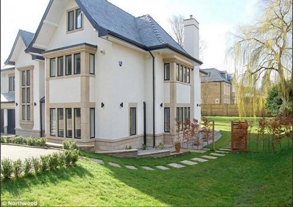 Дом, который арендует Де Хеа в Англии
