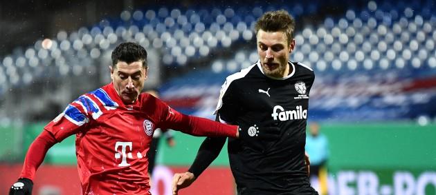 Киль выбил Баварию во втором раунде Кубка Германии