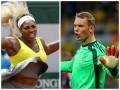 Журналисты признали спортсменами года теннисистку и футболиста