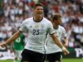 Германия ограничилась одним голом в ворота Северной Ирландии
